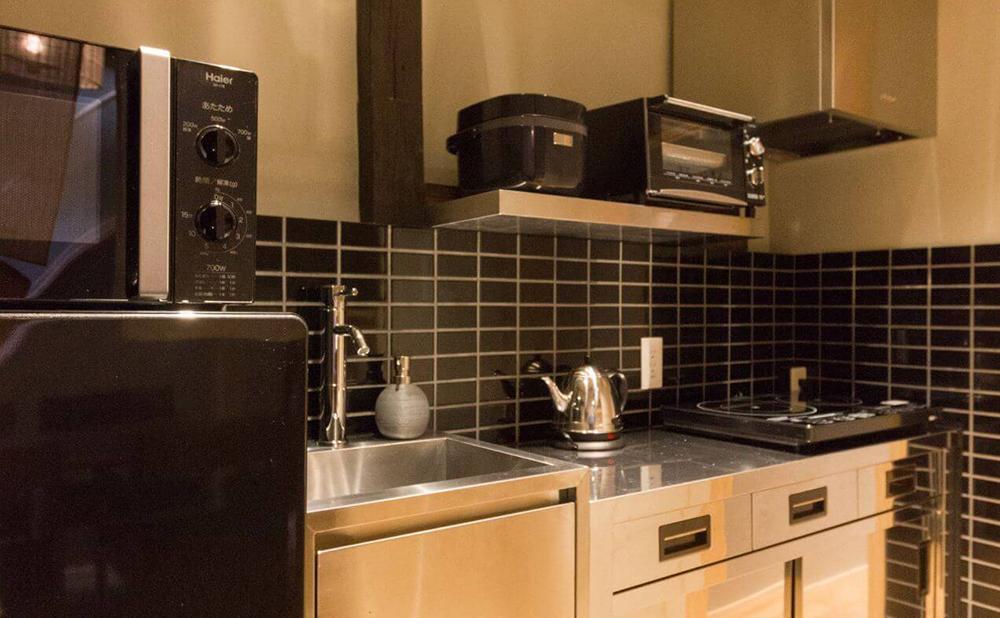 キッチン設備充実